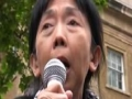Freedom Flotilla Massacre protest | Dr Swee Chai Ang | London 31 May 2010 - English