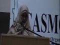 CASMO World Womens Day 2010 - Challenges of Muslim Women in the West - Sr Latifa Samji - English