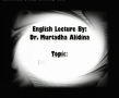 Dr. Alidina The themes meaning of Ziyarat Waritha Hussein - English