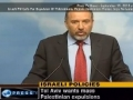 Israeli FM Calls For Expulsion of Palestinians And Rejects Settlement Freeze - 19 SEP 2010 - English