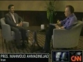 CNN Lari King interview with Iranian President Ahmadinejad Sept 22, 2010 - English