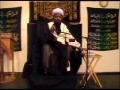 18th Ramadhan 2010 - Benefits of Fasting - Sheikh Jafar Muhibullah - English