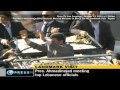 President Ahmadinejad Recieves Massive Welcome In Beirut - 13oct2010 - English