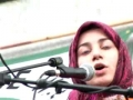 Against the Iraq-Afghanistan Wars - Noreen Fatima - English