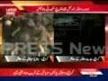 Sucide Bomber strucks Police Mobile Van in Karachi - 25Jan2011 - Urdu