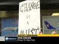 Protesters in New York support Egypt uprising - 29 Jan 2011 - English