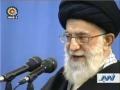 Ayatullah Khamenei: Sufferings will be eliminated without US -  23Feb11 - English