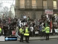 Londoners show solidarity with Libyans - 22Feb2011 - English