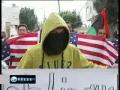 Palestinians protest against US veto in Bilin - Fri Feb 25 2011 - English