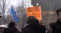Windsor Canada - Protest to Support Libyan and other Oppressed People - Feb 26 2011 - English - Arabic