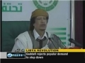Gaddafi rejects the Popular Demand to Step Down - 02 Mar 2011 - English