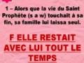 QCM  Tarikh 8 Les dernieres heures du Prophete saw - francais