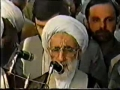 Funeral Prayers of Allama Arif Hussaini by Ayatullah Jannati 1988 - Arabic Urdu