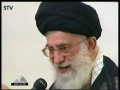 Leader denounces any moves satisfying enemies - April30 - 2011 Farsi
