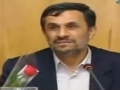 Ahmadinejad: I support the Supreme Leader 100% - May 1,  2011- English