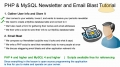 3 Mass Email Website Newsletter Bulk Batch Send Tutorial PHP MySQL - English