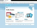 Twitter Goodies Widget Tutorial for Webmasters PHP MySQL Dynamics Included - English