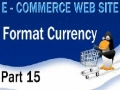 15 E Commerce Website Tutorial PHP Shopping Cart Money Format Currency - English