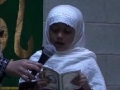 CASMO World Women Day 2011 - Tilawat Quran and Translation by Sr Amber and Marzia - Arabic English