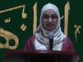 CASMO World Women Day 2011 - speech by Sr Rukh-e-Zahra - English
