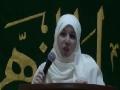 CASMO World Women Day 2011 - speech by Sr Yusur Al Bahrani - English