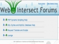 3 Web Intersect Forum Tutorial Create Posts Table Separate CSS PHP templates - English