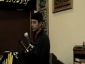 1st speech Muharram 2008 Bilal of  Sunday School Hussaini Calgary - English
