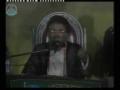 Youth showing devotion towards Rehbar - Incholi Karachi Pakistan - Urdu