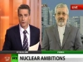 Iran has nothing to prove - Nuke envoy in RT live exclusive Jun 15, 2011 English