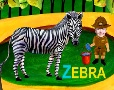 Alphabets - [Z] is for Zebra - English
