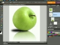 Create Apple Style Reflections in Photoshop Elements 8 Tutorial - English