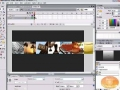 Scrolling Thumbnails w/ Mouse Control Flash Tutorial - English