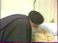 Ayatollah Gulpaygani during Illness