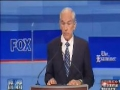 *MUST MUST WATCH* Ron Paul Brilliant In Iowa Debate - English
