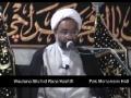 Tafseer Sura e Fajr - Dars 6 - Moulana Shahid Raza Kashfi - Urdu