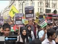 [Al-Quds Rally 2011 London] Thousands denounce Israeli Occupation - 21Mar2011 - English