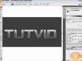 Metal/Metallic Text Adobe Illustrator CS3 Tutorial - English
