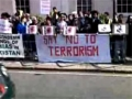 Protest outside Pakistani high commission in London UK for Shuhdah-e-Quetta - Sep2011 - Urdu