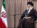 دیدار نخبگان و برگزیدگان علمی - Rahbar Sayyed Ali Khamenai - Elite People - Farsi