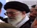 حضور رهبر در جبهه جنگ - Rahbar Sayyed Ali Khamenai at front line - Farsi