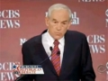 In spite of less time than other candidates, Ron Paul wins the CBS debate-English