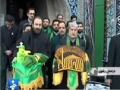 Muharram 1433 - Flag Change ceremony in Shrine of Imam Raza (a.s) Mashad - Nov 26 - Farsi