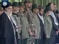 اقشار نمونه بسیج سراسر كشور Vali Amr Muslimeen speech to Basij - Farsi