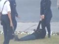 Bahrain - Blogger and rights activist Zainab al-Khawaja dragged away by Police - 15Dec2011 - English
