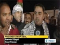 550 Palestinians return home under 2nd phase of prisoner swap deal - 19 Dec 2011 - English