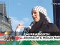 Lauren Booth - Prayer for Gaza, Al Quds Day 2011, London 21th August 2011 - English