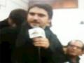 FARHAN ALI WARIS Azadari At AL-Zulfiqar Karachi incholi 26 Safar Part 3/3 - Urdu - English