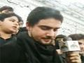 Farhan Ali Waris At Shab Baidari Alzufiqar Karachi incholi - 26 Safar Part 2/3 - Urdu