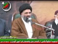 [Yume Hussain AS - KU] Speech H.I. Sayyed Jawwad Naqvi - 25Jan2012 - Urdu