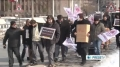 Turkish activists protest US-Israel missile test 19th Feb 2012 - English